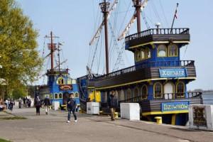 Otsee Polen Hafen von Dziwnow Ausflüge und Touren