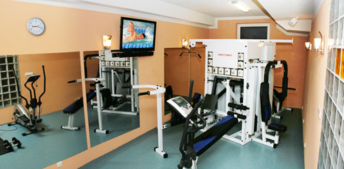 Fitnessraum Villa del Mar