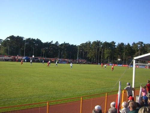 Fussball an der polnischen Ostsee