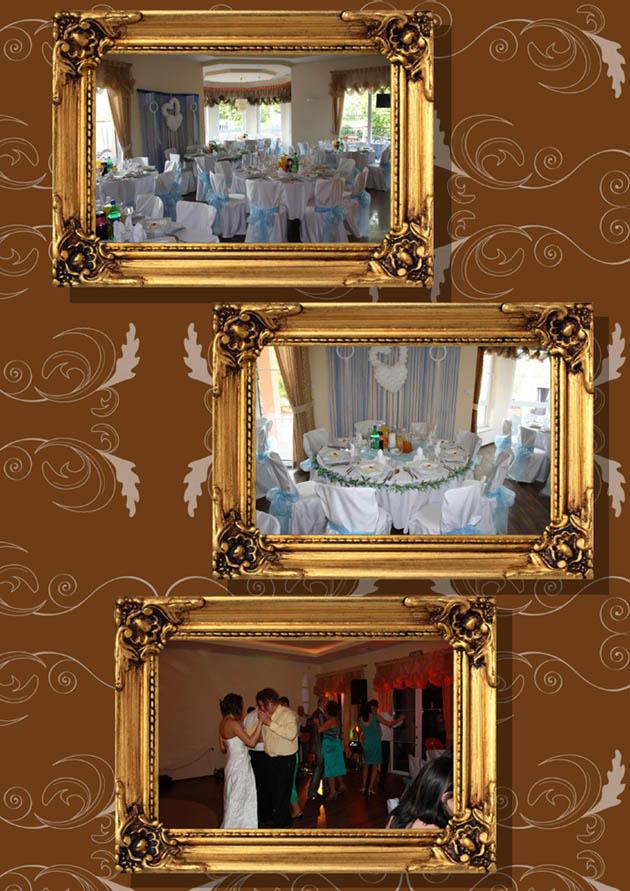 Hochzeit im Strandhotel - Dekoration des Saales
