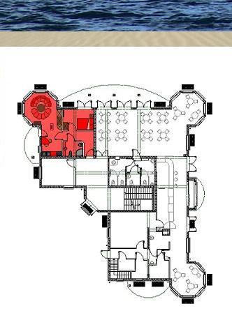 Anordnung der Suite im EG