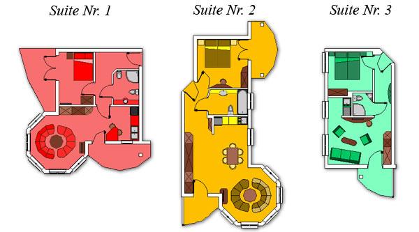 Suite Nr. 1-3