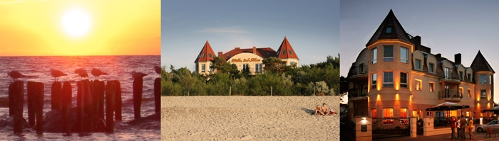Postkartenansicht Hotel Villa del Mar