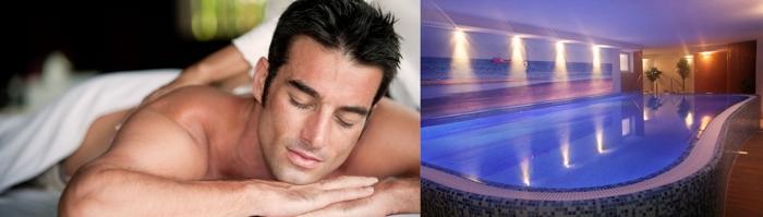 Entspannung im Wellnessbereich der Villa del Mar
