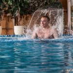 Schwimmbad in der Villa del Mar-polnische Ostsee