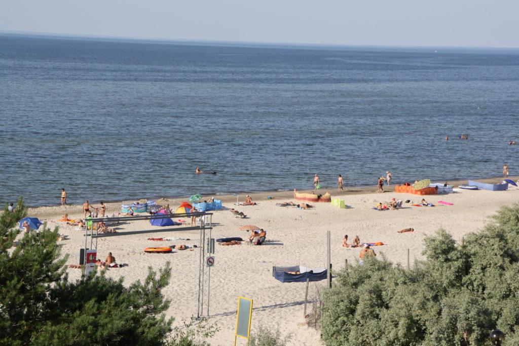 Strandspaziergang Ostsee  Niechorze